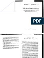 Edelman From Art to Politics
