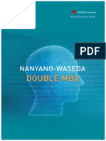 The NANYANG Waseda Brochure 2013_