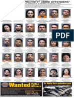 Most Wanted Property Crime Offenders, June 2014