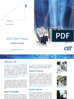Solid State Relays-product Guide CROUZET