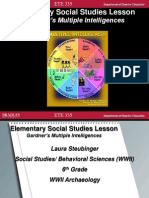 ete 335 behavioral sciences lesson plan