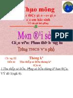 Thu thap so lieu thong ke Tan so 7