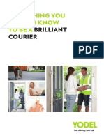 Everything You Need to Know to Be a Brilliant Courier