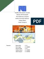 Marco Geologico Cuenca Barinas Apure Preliminar