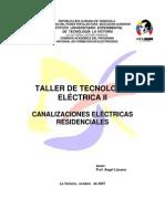 Tecnologia Elctrica II. Instalaciones Residenciales