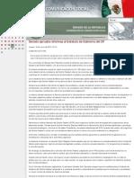 Senado aprueba reformas al Estatuto de Gobierno del DF.19-06-2014
