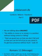 The Balanced Life.3
