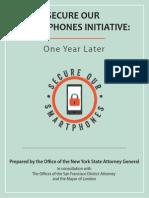 Secure Our Smartphones Initiative Report