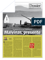 Malvinas, presente