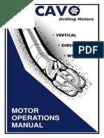 Cavo Motor Operations Manual
