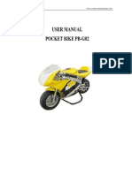 poket-bike Manual