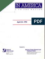 Rape in America 1992