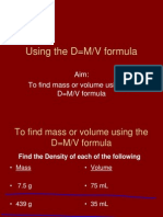 Finding Density PowerPoint