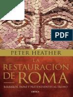 La Restauración de Roma (Peter Heather)