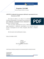Normas Elaboracao Apres Teses Doutoramento Ulht