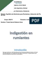 Omar Tirado ENPR 14I Patología Indigestión en Rumiantes