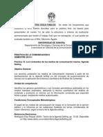 Lineamientos Trabajo y Presentación Final Práctica de Comunicación, Mtra. Patricia González