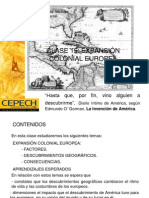 Clase 15 Expansion Colonial Europea