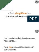 UNCTAD 10 Principios de Simplificación de Tramites18 Junio2014