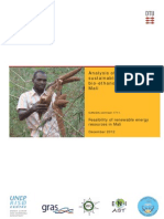 ERep-Analysis of the Potential for Sustainable, Cassava-based Bioethanol Production in Mali, DANIDA