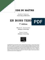 Guide Du Maitre_en Bon Termes