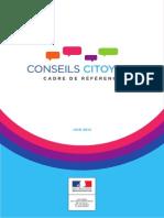 Conseils citoyens - Cadre de référence
