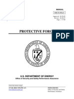 DOE Protective Force Manual m4704-3c1