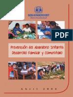 Lineamientos de Ff y Desarrollo Comunitario