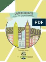 Savoring Your CSA