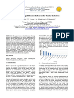 EArt-Minimal Energy Efficiency Indicators for Poultry Industries