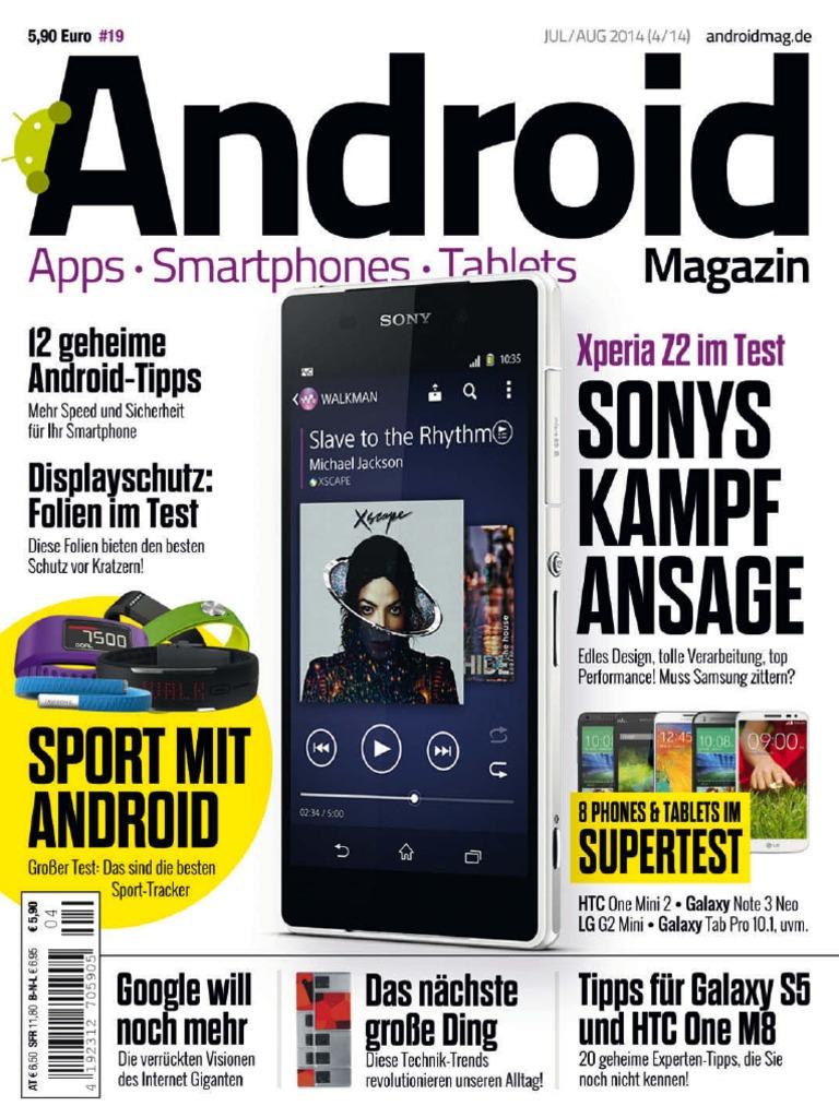 Android Magazin Juliaugust Ausgabe 042014 K Touch Apollo 3g Dual Sim Core 12ghz Jelly Bean Big Battery 2500mah Camera