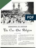 Cao Dai Religion