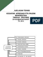 Sosialisasi Apresiasi 2014 Revisi