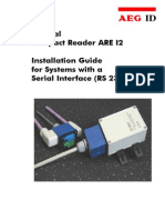 Installation Guide ARE I2 RS 232