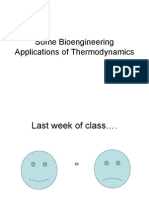 Bioengineering Thermodynamics