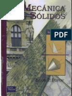 Mecánica de Sólidos - Egor Popov - 2 Ed - Español