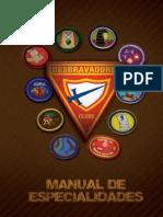 novo manual de especialidades de desbravadores