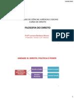 Direito Politica e Poder (Foucault) 1a Parte