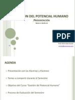 Semana 1 - Presentacion Del Curso de Gestion Del Potencial Humano 1(1)