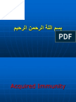Acquired (Specific ) Immunity