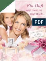 WIR-FÜR-SIE Prospekt Muttertag 2009