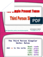 The Third Person Form