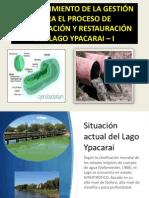 Restauración Recuperacion Lago Ypacaraí i
