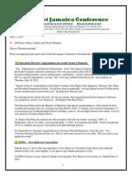 Communication -Advisory for June 21 -2014