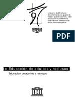 Educacion de Adultos y Reclusos