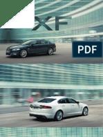 Brosura Jaguar XF