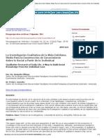 Psicoperspectivas - La Investigación Cualitativa de La Vida Cotidiana_ Medio Para La Construcción de Conocimiento Sobre Lo Social a Partir de Lo Individual