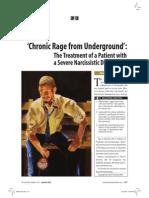 Ornstein, Chronic Rage From Underground