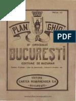 Plan Ghid Al Orasului Bucuresti, V. Miorini
