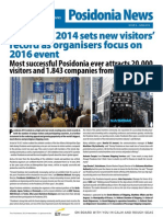 Posidonia 2014 Newsletter 5